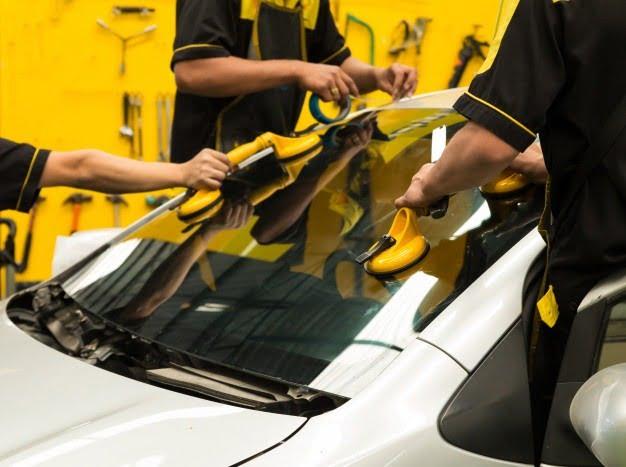 suction lifters windshield change windscreen autoglass etalon 2